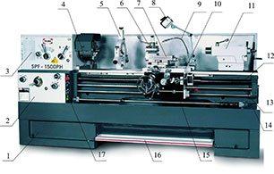 Универсальный токарный станок PROMA SPF-2000PH с УЦИ