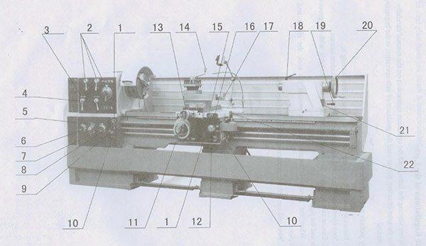 Универсальный токарный станок SPI-1500S