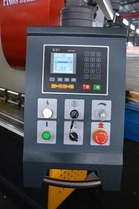 Панель управления снабжена цифровым индикатором E21 (Estun)