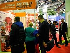 Строительный сезон начался с закупки листогибочных станков  на выставке MosBuild-2015