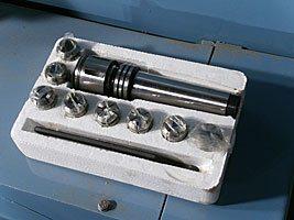 комплект инструмента сверлильно-фрезерного станка MetalMaster DMM 50C