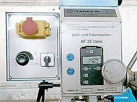 Управляющие элементы TDF-20
