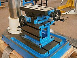 тиски сверлильного станка MetalMaster TDR-20