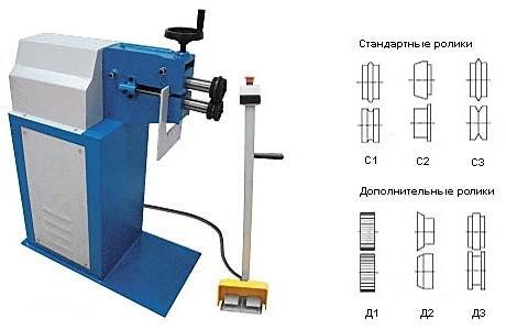 Электромеханическая зиговочная машина MetalMaster ЕTZ 18