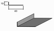 Планка начальная доборный элемент для кровли на листогибе Van Mark