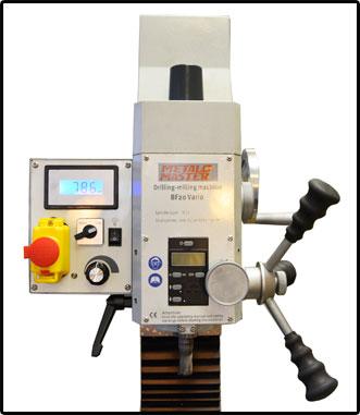 Общий вид фрезерной головы BF 20 Vario мощностью 850 Вт.