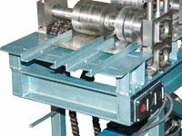 Затягивающий переход с шестеренкой для лучшей протяжки металла
