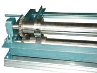Станок продольной резки металла СПР-1250/3-Р имеет прорезиненные ролики