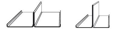 Профили производимые на станке для изготовления Т-профиля